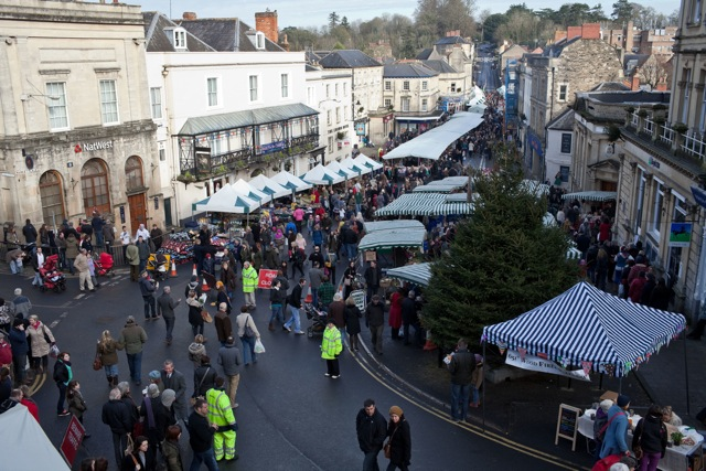 Frome Super Market: a monthly initiative which grew from the success of the Artisan Market on Catherine Hill