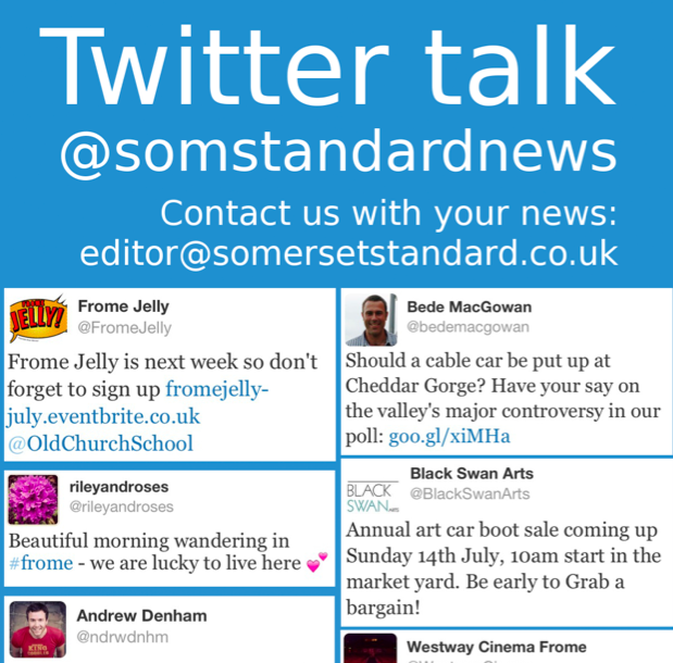 Click on the image to see this week's Somerset Standard Twitter column in full (just over 1MB)