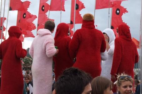 fluffy people, Glastonbury