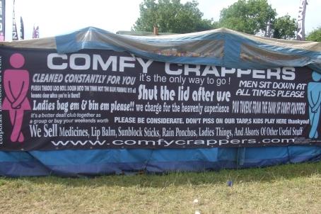 Comfy Crappers, Glastonbury