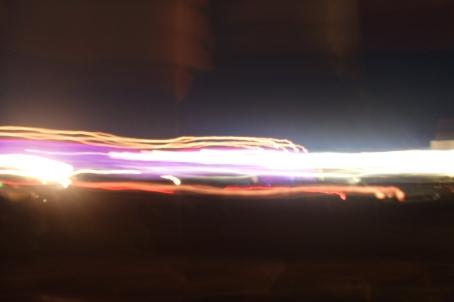 Dance fields by night, Glastonbury