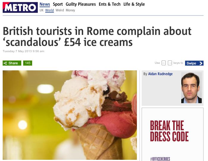 Italian marketing chill, or clever PR stunt?