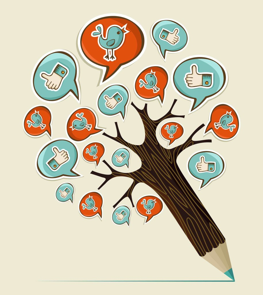 social-media-tree-pencil