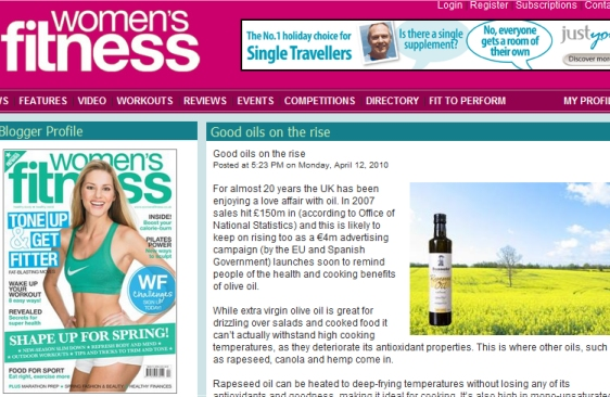 click image for full article on womensfitness.co.uk